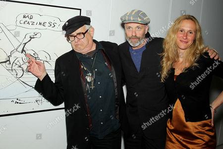 Ralph Steadman, Charlie Paul, Lucy Paul