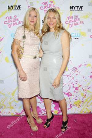 Candace Bushnell and Amy B Harris