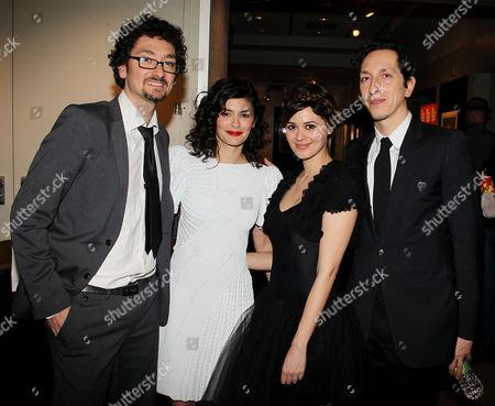 David Foenkinos, Audrey Tautou, Emilie Simon, Stephane Foenkinos