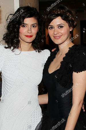 Audrey Tautou and Emilie Simon