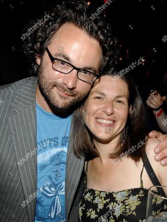 Stock Photo of Eli Gonda (Producer) and Nanette Burstein (Director)
