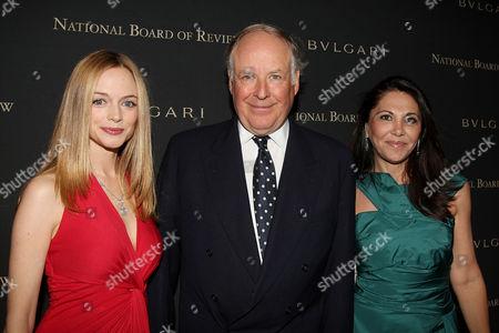 Heather Graham, Nicola Bulgari and wife Beatrice Bulgari