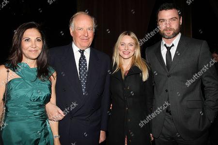 Nicola Bulgari and wife Beatrice Bulgari, Naomi Watts and Liev Schreiber