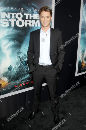 Editorial photo of 'Into the Storm' film premiere, New York, America - 04 Aug 2014