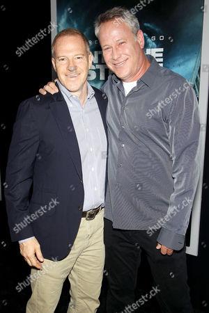 Toby Emmerich (Pres. & COO New Line Cinema) , Todd Garner (Producer)