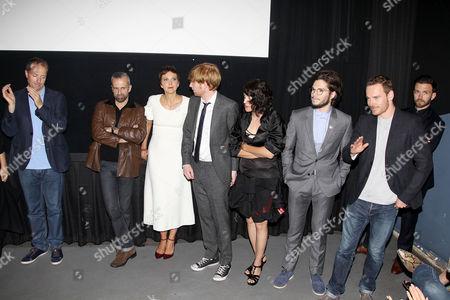 Andrew Lowe, Stephen Rennicks, Maggie Gyllenhaal, Domhnall Gleeson, Carla Azar, Francois Civil, Michael Fassbender