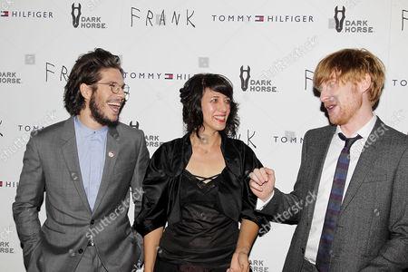 Francois Civil, Carla Azar, Domhnall Gleeson
