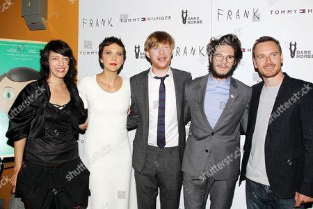 Carla Azar, Maggie Gyllenhaal, Domhnall Gleeson, Francois Civil and Michael Fassbender