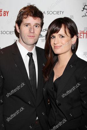 Gavin Wiesen and Elizabeth Reaser