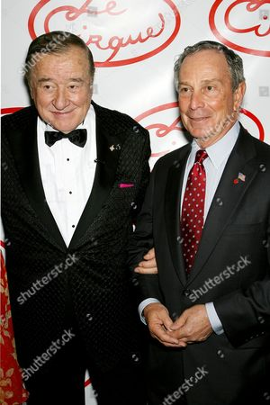 Sirio Maccioni and Mayor Michael Bloomberg