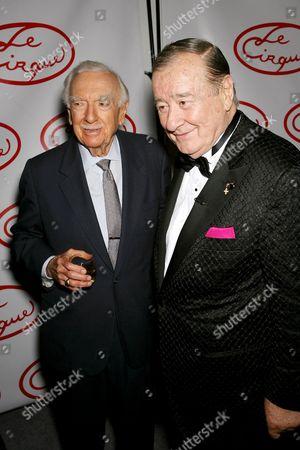Walter Cronkite and Sirio Maccioni