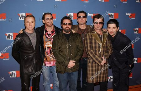 Inxs - Garry Beers, Kirk Pengilly, Andrew Farriss, Tim Farriss and Jon Farriss, J D Fortune