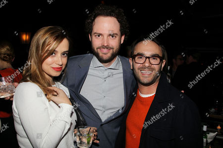 Editorial photo of 'Breathe In' film after party, New York, America - 18 Mar 2014