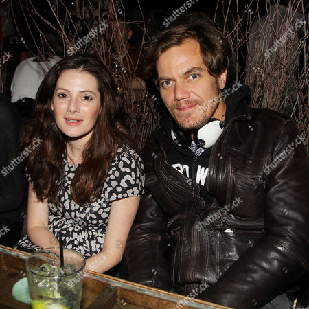Aleksa Palladino and Michael Shannon