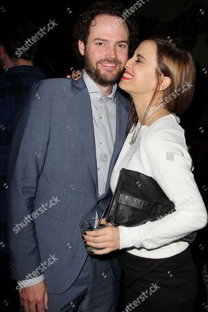 Stock Photo of Drake Doremus (Writer/Director) and Alana Morshead (girlfriend)