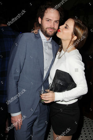 Drake Doremus (Writer/Director) and Alana Morshead (girlfriend)