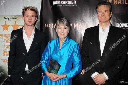 Jeremy Irvine, Patti Lomax, Colin Firth