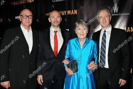 Stock Photo of Chris Brown, Jonathan Teplitzky, Patti Lomax, Andy Paterson