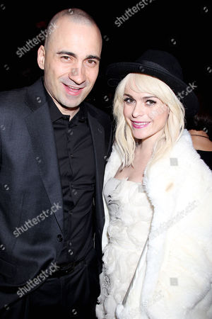 Jay Giannone and Taryn Manning