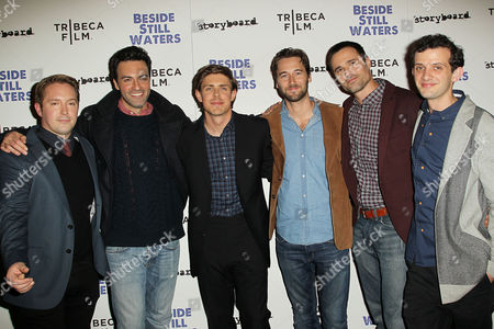 Beck Bennett, Reid Scott, Chris Lowell, Ryan Eggold, Brett Dalton and Will Brill