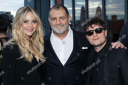 Jennifer Lawrence, Tim Palen, Josh Hutcherson