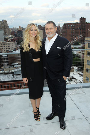 Jennifer Lawrence, Tim Palen (Lionsgate Chief Brand Officer / Pres. of Worldwide Mark.)