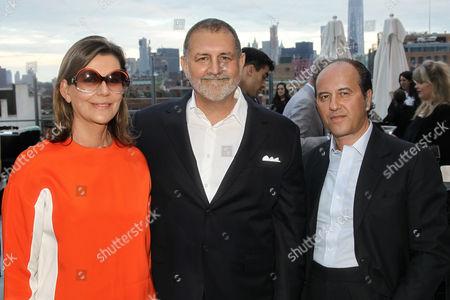 Martine Assouline, Tim Palen (Lionsgate Chief Brand Officer / Pres. of Worldwide Mark.), Prosper Assouline