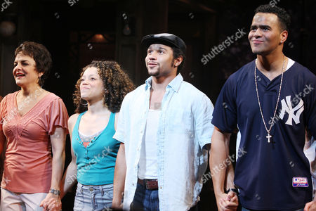 Stock Picture of Priscilla Lopez, Marcy Harriell, Corbin Bleu and Christopher Jackson