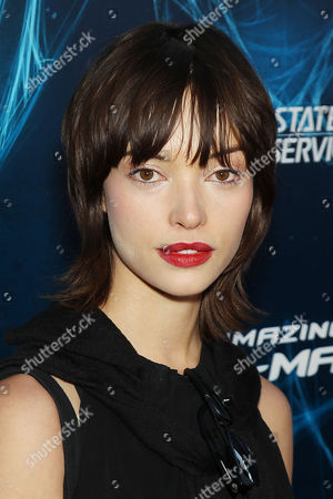 Editorial image of 'The Amazing Spider-Man 2' film premiere, New York, America - 24 Apr 2014
