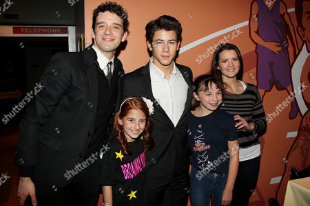 Michael Urie, Nick Jonas, Rose Hemingway, Julianna Rigoglioso and Sarah Safer