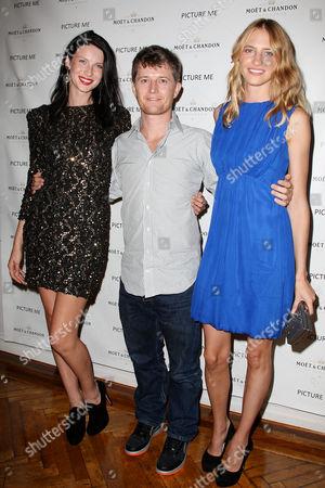 Caitriona Balfe, Ole Schell and Sara Ziff
