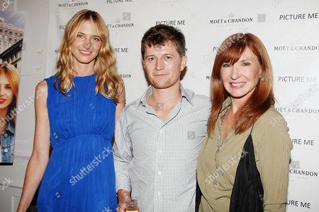 Sara Ziff, Ole Schell and Nicole Miller