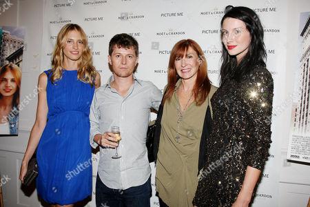 Sara Ziff, Ole Schell, Nicole Miller and Caitriona Balfe
