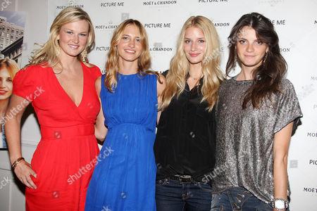 Stock Photo of Amy Lemons, Sara Ziff, Linda Vojtova and Jeisa Chiminazzo
