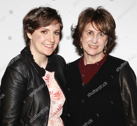 Lena Dunham and Delia Ephron