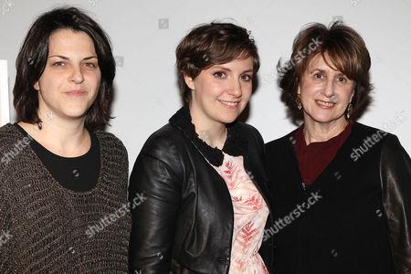 Stacie Passon, Lena Dunham and Delia Ephron
