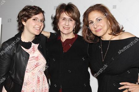 Lena Dunham, Delia Ephron and Kathy Najimy