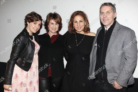 Lena Dunham, Delia Ephron, Kathy Najimy and Andy Ostroy