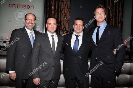 Stock Photo of Scott Rudin, Dana Brunetti, Mike Deluca, Armand Hammer
