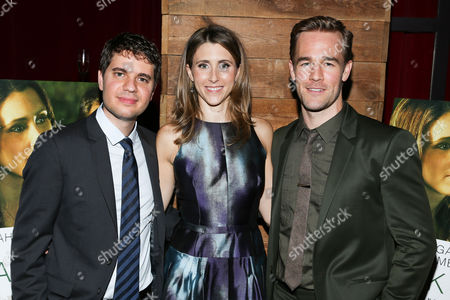 Stock Picture of Ben Hickernell, Sarah Megan Thomas, James Van Der Beek