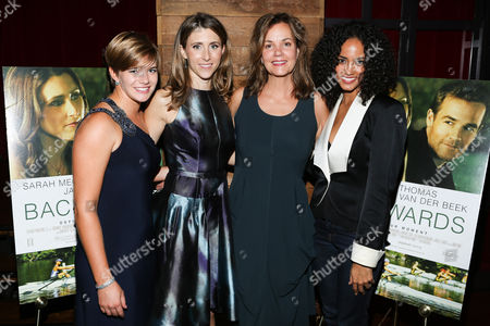 Editorial photo of 'Backwards' film premiere after party, New York, America - 18 Sep 2012