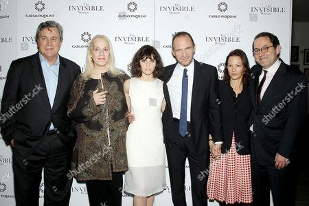 Tom Bernard (SPE), Carolyn Marks Blackwood, Felicity Jones, Ralph Fiennes, Gabrielle Tana, Michael Barker (SPE)