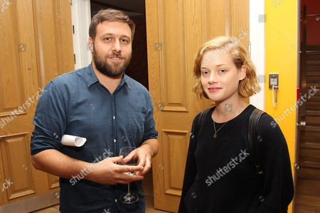 Stock Image of Maxime Giroux and Jane Levy