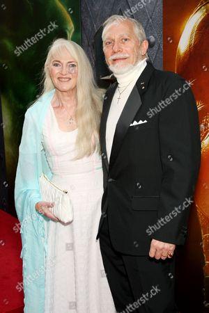 Co-Producer Douglas Gresham with wife