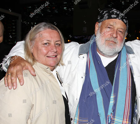 Stock Image of Nan Bush and Bruce Weber