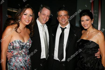 Tonya Chen, Ben Mezrich, Michael De Luca and Angelique De Luca