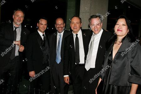 David Fincher (Director), Dana Brunetti, Scott Rudin, Kevin Spacey, Ben Mezrich and Rose Kuo