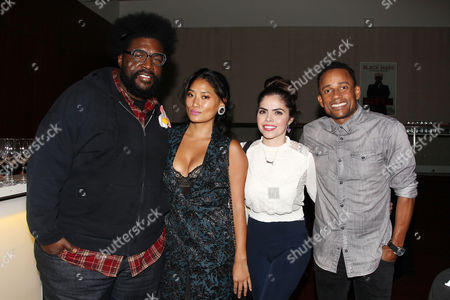 Questlove (Ahmir Thompson) and Hill Harper with guests
