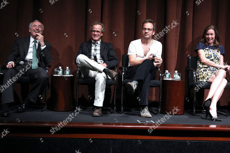 William J Bratton, Dick Lehr, Peter Sarsgaard and Julianne Nicholson