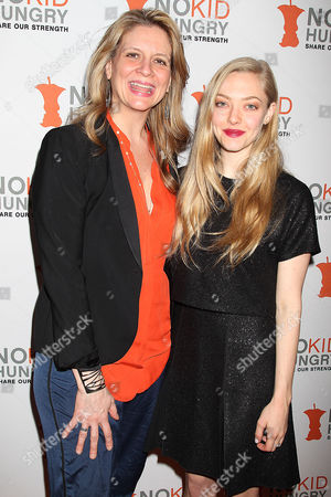Amanda Freitag and Amanda Seyfried